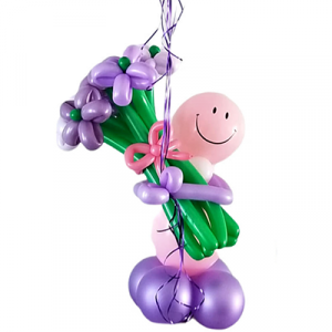 Balloon Bouquet Delivery and twisted helium balloon weight
