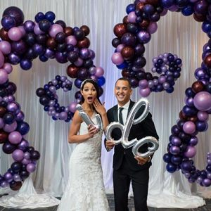Organic Balloon Decorations and ideas for weddings and private events